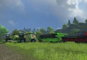 Landwirtschafts-Simulator 2013 Alle Erntemaschinen und Mähdrescher