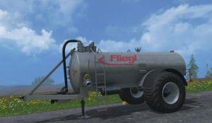 Landwirtschafts-Simulator 15 Gülleanhänger Fliegl