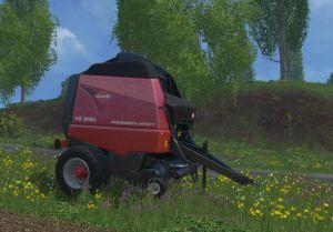Landwirtschafts-Simulator 15 Kuhn Ballenpresse