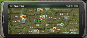 Landwirtschafts-Simulator-2013 PDA Informationsbildschirm Smartphone