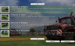 Landwirtschafts-Simulator 2013 Tutorial was brauche ich wozu