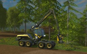 Landwirtschafts-Simulator 15 Harvester Ponsse Scorpionking