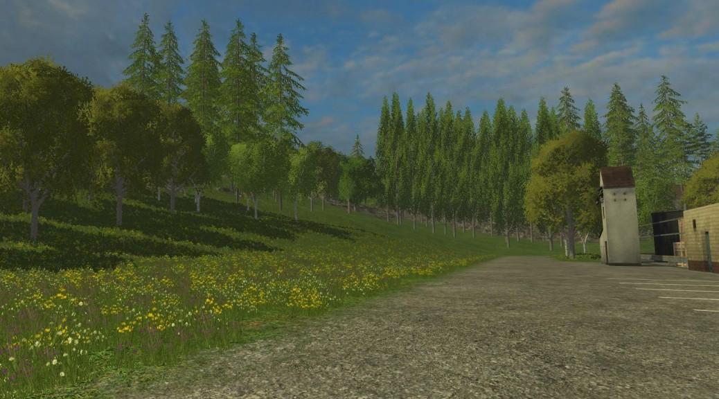 Landwirtschafts-Simulator 15 ausgewachsene Bäume setzen