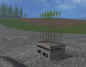 Landwirtschafts-Simulator 15 Bäume anpflanzen Setzlinge
