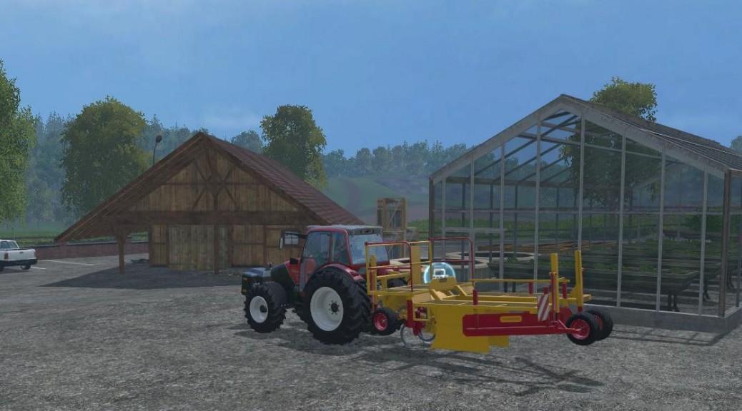 Landwirtschafts-Simulator 15 Bäume anpflanzen Setzmaschine Damcon