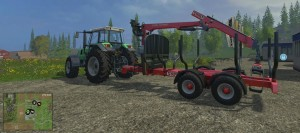 Landwirtschafts-Simulator 15 Forstwirtschaft Bäume verkaufen