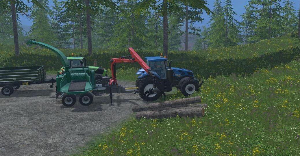 Landwirtschafts-Simulator 15 hackschnitzel