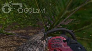 Landwirtschafts-Simulator 15 Kettensäge entasten