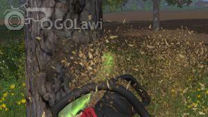 Landwirtschafts-Simulator 15 Kettensäge grüner Ring