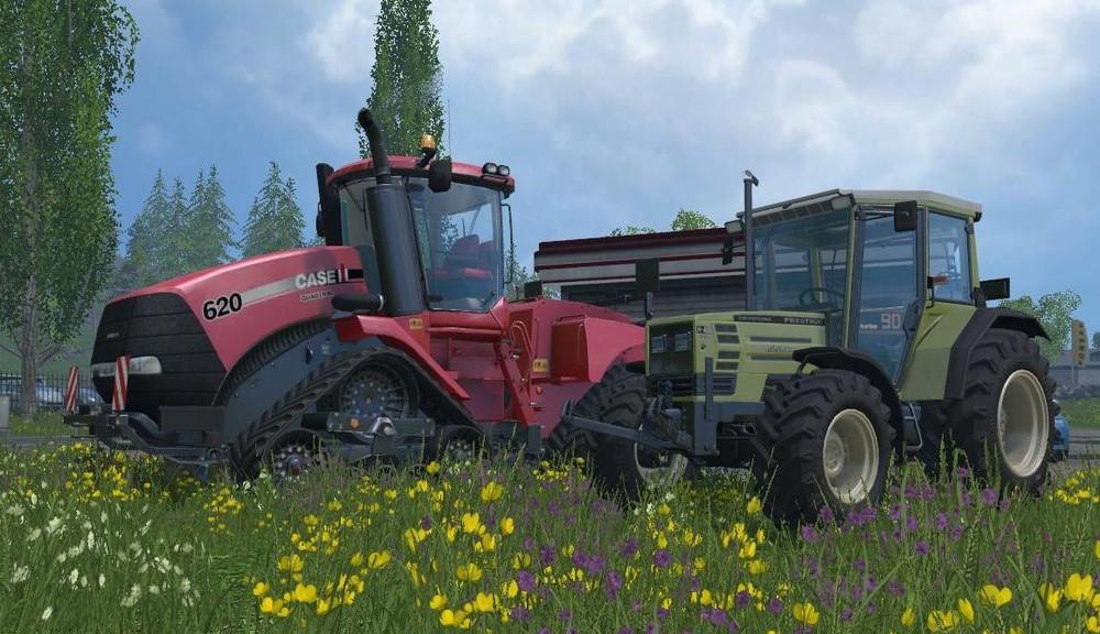 Landwirtschafts-Simulator 15 alle Traktoren Liste Übersicht