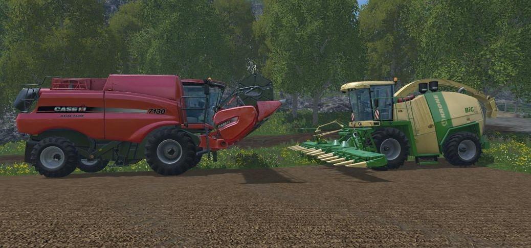 Landwirtschafts-Simulator 15 Mähdrescher Erntemaschinen Liste