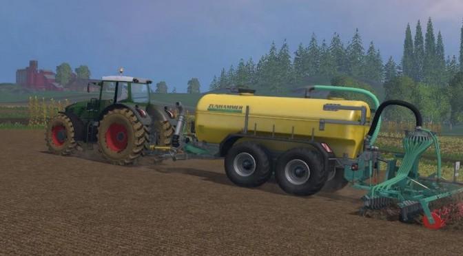 Landwirtschafts-Simulator 15: Alle Düngestreuer, Feldspritzen, Miststreuer und Güllefässer