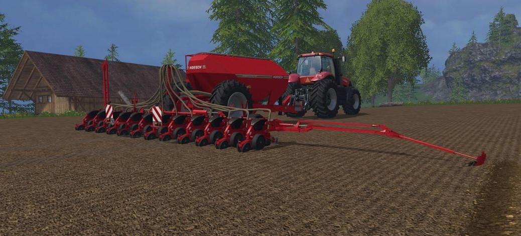 Landwirtschafts-Simulator 15 Sämaschinen Liste