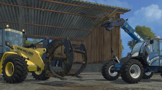 Landwirtschafts-Simulator 15: New Holland freies DLC