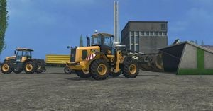 Landwirtschafts-Simulator-15 Hackschnitzel Schaufel Transport