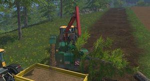 Landwirtschafts-Simulator 15 Jenz HEM 583 Holzhacker verbessert