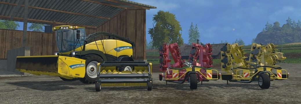 Landwirtschafts-Simulator 15 New Holland DLC