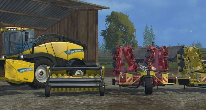 Landwirtschafts-Simulator 15 New Holland DLC