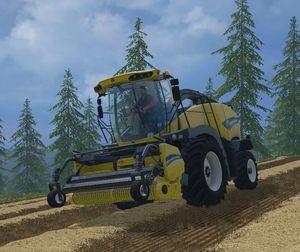 Landwirtschafts-Simulator 15 New Holland FR 850 Feldhäcksler