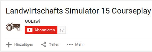 Landwirtschafts-Simulator 15 Courseplay Tutorial