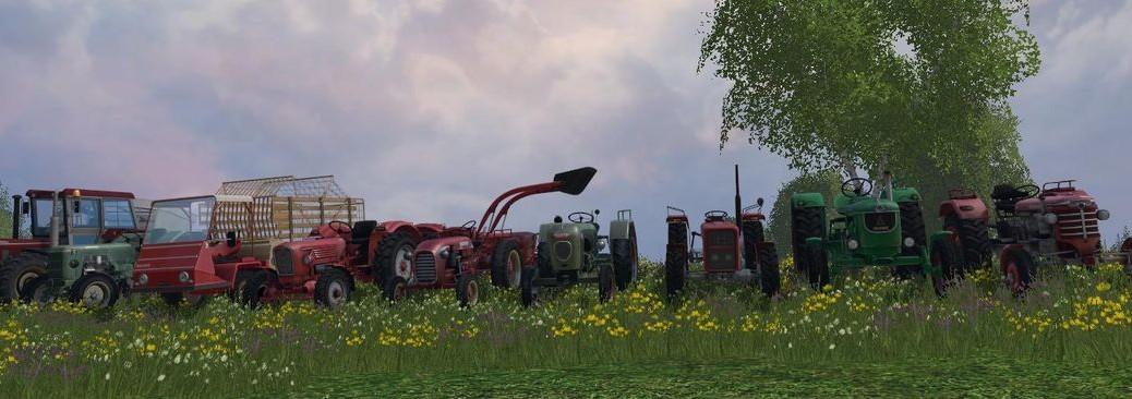 Landwirtschafts-Simulator 15 Klassiker der Landwirtschaft
