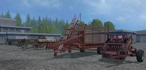 Landwirtschafts-Simulator 15 Klassiker der Landwirtschaft Geräte