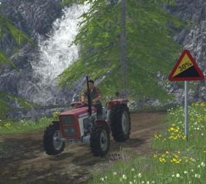 Landwirtschafts-Simulator 15 Lindner BF 450